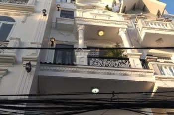 Nhà kiểu biệt thự mini mới 100% mặt tiền hẻm 280/ Lê Văn Quới, 4x12m, 3 tấm, Gần Chợ