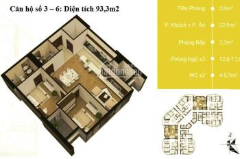 Căn góc siêu hot tòa N01T8, tháng 4/2019 nhận nhà, giá chỉ 34tr/m2