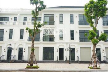 Cho thuê shophouse 100m2, 4 tầng Vinhome Green Bay Mễ Trì, giá 60tr/tháng