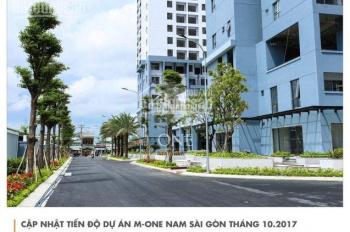 Cần bán gấp căn 2PN tháp T1 M-One Nam Sài Gòn, hướng Bắc, DT: 61m2, 2.3 tỷ. LH: 036.332.6525