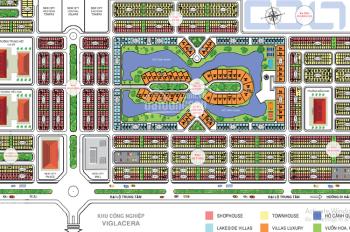 Cần tiền bán gấp lô đất liền kề 100m2 New City Phố Nối - Hưng Yên, giá cực rẻ 7.6 triệu/m2