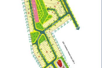 Bán lô C Cotec Phú Gia đấu lưng trường học Dương Văn Dương, DT 144.5m2, giá 23.5tr/m2, 0933490505