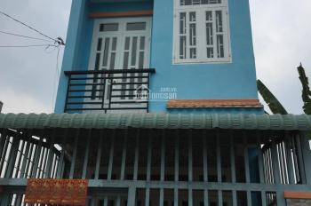 Bán nhà 1 trệt, 1 lầu, mặt tiền đường nhựa 12m, gần Tô Ký, giá 3,7 tỷ