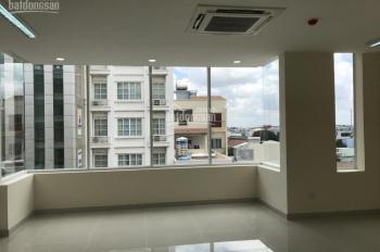 Văn phòng cực đẹp Bạch Đằng, sân bay 60m2 = 19tr/th, vuông vức, view kính mặt tiền. LH: 0934118945