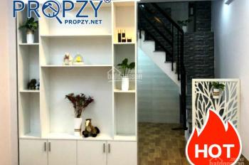 Bán nhà Quận 8, 1 lầu 2 phòng ngủ mới đẹp hẻm Lưu Quý Kỳ  Dài: 6.68m  Rộng: 3.23m