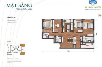 Chuyển xuống thấp tầng muốn nhượng lại căn 4 phòng ngủ, 151.4m2, giá 6.6 tỷ, bao toàn bộ phí sổ đỏ