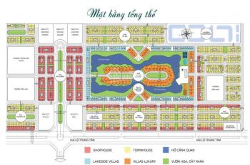 Chính chủ cần bán gấp lô shophouse nhìn hồ tại dự án New City Phố Nối - Hưng Yên, giá rẻ