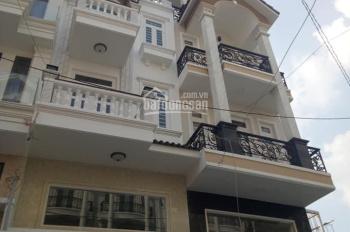 Chính chủ cho thuê nhà mới xây full NT hẻm 8m 364/70 Dương Quảng Hàm p5 GV, DT: 5x12m, trệt, lửng