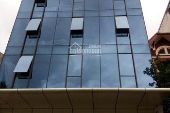 Cho thuê tòa nhà ngõ 161 Thái Hà, Đống Đa, HN, diện tích 100m2 xây 7 tầng, giá 80 triệu/tháng