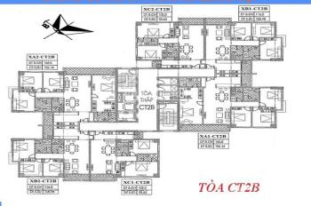 Bán gấp chung cư Xuân Phương Quốc Hội căn 15B1 tòa CT2B dt 105.98m2, giá 18.5tr/m2. LH 0903400558