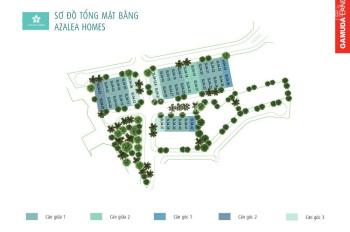 Bán biệt thự song lập Gamuda thang máy Azalea Homes 4 tầng, 162m2, Tây Bắc, 15.2 tỷ. Xây 50%