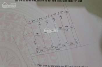 Bán đất thổ cư 37m2 sổ đỏ chính chủ Huyền Kỳ, Phú Lãm. LH: 0982635996