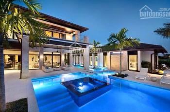 Cho thuê biệt thự tại Phú Mỹ Hưng 850m2 có hồ bơi riêng 7PN nội thất Châu Âu, call 0977771919