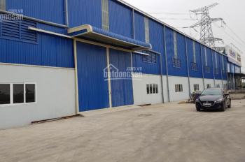 Cho thuê kho xưởng gần khu công nghiệp Vsip Bắc Ninh. Diện tích 3500m2