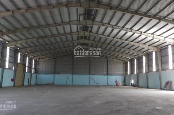 Cần cho thuê kho xưởng 1100m2 đường Kinh Dương Vương, container ra vào dễ dàng