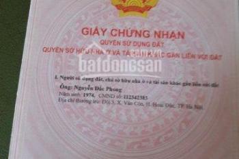Chính chủ cần bán 80m2, đất ở, giá 5.5 tr/m2, gần Đại Lộ Thăng Long 900m, 0974546699