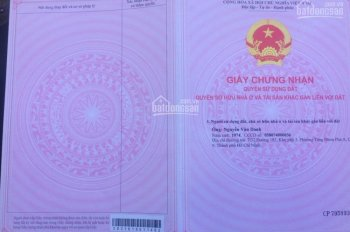 Bán đất vườn thổ cư xã Hòa Phú, huyện Châu Thành, tỉnh Long An