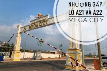 Chính chủ cần bán 2 lô dự án Mega City, Kim Oanh ngay chợ Bến Cát kế bên sông Thị Tính, có hình
