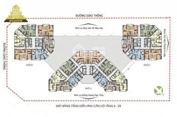 Bán căn hộ 01-127m2 tòa N04 UDIC Complex - Hoàng Đạo Thúy, Cầu Giấy, giá bán: 36tr/th, 0984677769