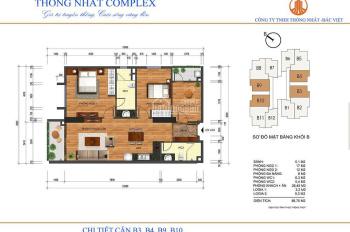 Chị Vân cần tiền bán cắt lỗ sâu dự án Thống Nhất Comp căn 1603, 88.97m2, giá 28 tr/m2. 0901798296