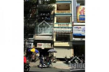 Bán tòa nhà góc 3 mặt tiền đường Nguyễn Thị Minh Khai góc CMT8, 5m x 25m, hầm, 6 lầu