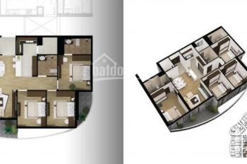 Bán căn 32.08 chung cư N01T8 Ngoại Giao Đoàn, Hà Nội, 4 phòng ngủ hướng Đông Nam