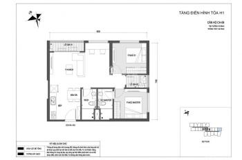 Cần bán gấp căn hộ số 06 tầng trung tòa C1 dự án Vinhomes New Center Hà Tĩnh