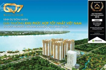 Chính chủ bán gấp căn 66.66m2 2PN dự án Q7 SG Riverside, giá 1,736 tỷ, tầng đẹp, LH 0908833902