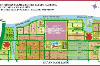 Sang gấp lô đất KDC Nam Long MT Liên Phường Q9, TT 1.5 tỷ/nền, đầu tư sinh lời ngay. LH 0933303242