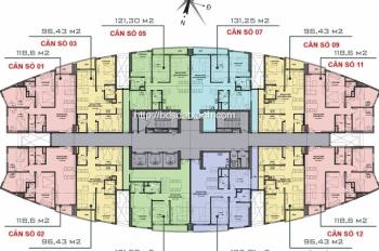 Chính chủ cần bán căn hộ chung cư Victoria, khu đô thị mới Văn Phú, quận Hà Đông, Hà Nội