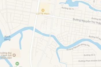 Cho thuê nhà nguyên căn hẻm Lê Văn Lương, Quận 7. Gần trường ĐH Tôn Đức Thắng, giá 6 triệu/tháng