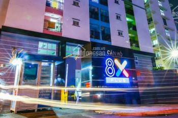 Cho thuê căn hộ 8X PLus 2PN + 2WC- giá rẻ 6.5 triệu/ tháng- 0907849009