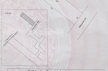 Bán đất hẻm nhánh lộ ngân hàng 100% thổ cư, DT 5x19m (95m2)
