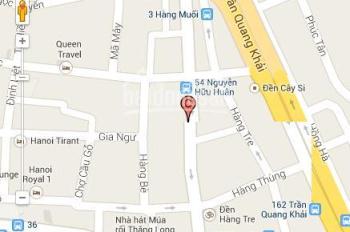CC gia đình a tôi bán nhà mặt phố Nguyễn Hữu Huân 200m2, mặt tiền 8m, 580 tr/m2. Gọi 0944587997