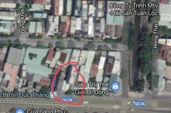 Cho thuê lô đất mặt tiền Tôn Đức Thắng, gần bến xe 400m2