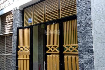 Nhà mới HXH, 36m2 xây 1 trệt 1 lầu, 2 phòng ngủ, đường Nguyễn Chế Nghĩa, P12, Q8