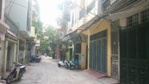 CC cần bán gấp nhà đất khu phân lô mặt ngõ phố Trần Quang Diệu, Hoàng Cầu, Ô Chợ Dừa, Đống Đa, 62m2