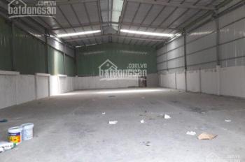 Cho thuê nhà xưởng Lê Văn Khương, P. Hiệp Thành, quận 12, DT 500m2 - 1.000m2. LH 0936 662032