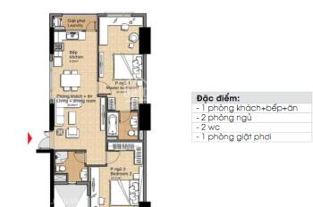 Cần bán gấp căn hộ CC The Era Town Đức Khải, Q7, 1 tỷ 7, 90m2, 2PN, LH 0902 339 985