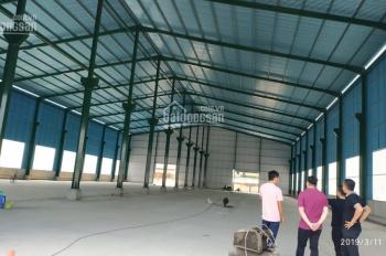 Cho thuê nhà xưởng 1000m2, 2000m2 mặt tiền đường Quốc Lộ 1A, gần chợ Gò Đen, Bến Lức, Long An