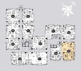 Bán căn hộ TDH Trường Thọ, 113m2 căn góc 2 MT, lầu 14, giá 2,2 tỷ TL. LH 0939575784
