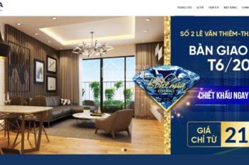 Suất ngoại giao CĐT Bohemia CK siêu khủng 10,5%, giá chỉ từ 23tr/m2, LH: 0982 688 343