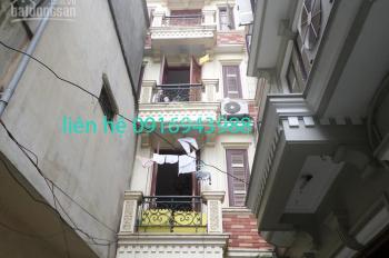 Cho thuê nhà riêng phố Hàm Long, Lò Đúc 35m2 x 5 tầng, giá 12tr/th