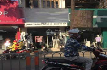 Nhà đường Quang Trung hợp KD thời trang p. 10 gần khu dân cư sầm uất tiện KD, Q. Gò Vấp