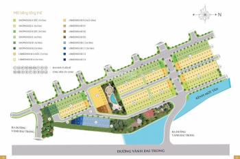 Cần tiền bán gấp nhà thô shophouse trong River Park, Q9 - DT 75m2, giá 5,2 tỷ, thuận tiện KD