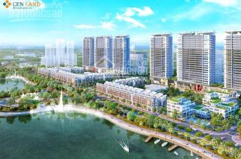 Chính chủ bán 1 trong 2 lô shophouse 90m2 ĐN view công viên hồ 24ha, dự án Khai Sơn City 12.5 tỷ