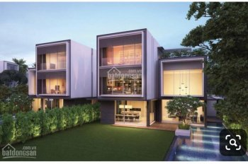 Bán biệt thự ven sông Sài Gòn - Chuẩn sống sang trọng đẳng cấp - Có sân vườn hơn 400m2 - Giá 55 tỷ