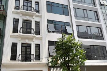Cho thuê nhà ngõ 1 Trần Quý Kiên, 55m2, 6 tầng có thang máy - Anh Vũ 0389896655