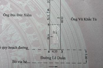 Bán nhà mặt đường Lê Duẩn, gần ngã 6 Quán Trữ (Liên hệ 0912101258)