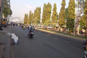 Cho thuê mặt bằng, có sẵn nhà cấp 4, chiều ngang hơn 10m, mặt tiền đại lộ Nguyễn Văn Linh